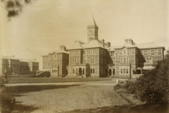 Parkside Lunatic Asylum, established in 1870, now known as Glenside Psychiatric Hospital, 1889 (State Library of South Australia - B1614)