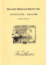 Burnside Historical Society newsletter, March, 2005, cover